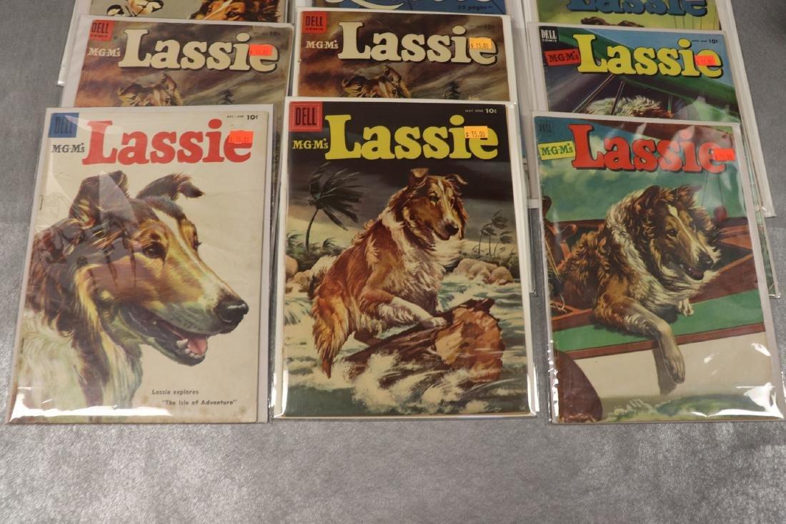 Lot of 12 Dell Lassie Comics - 2