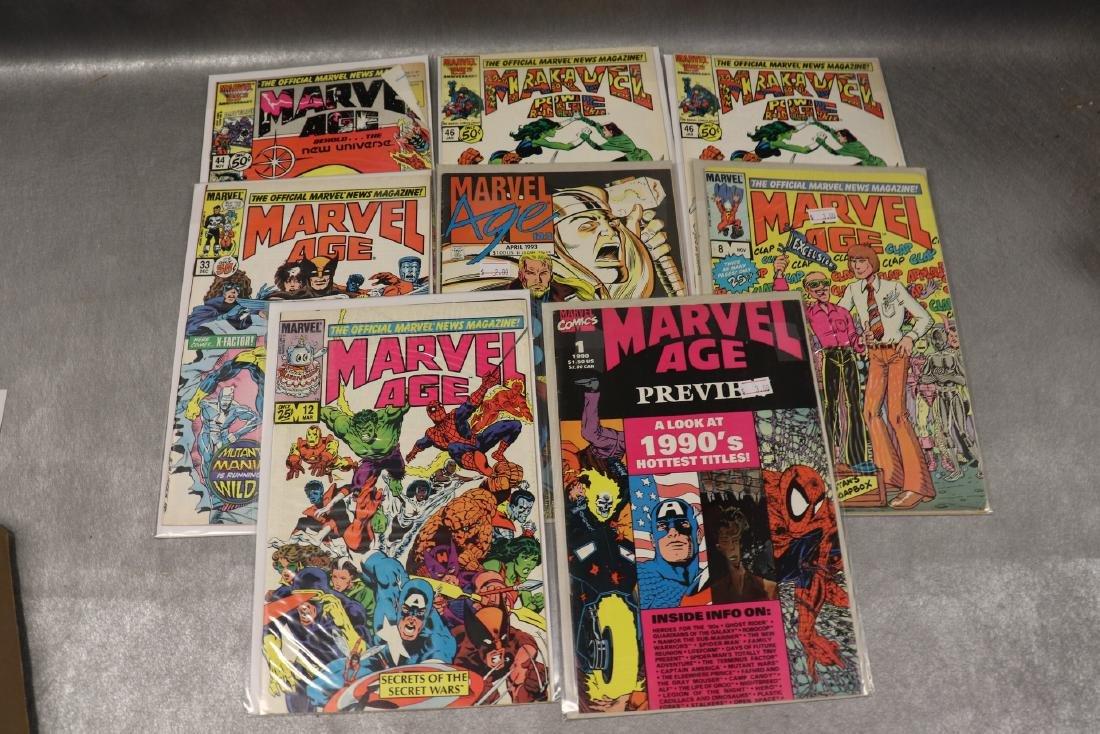Lot of 8 Marvel Age Comic Books