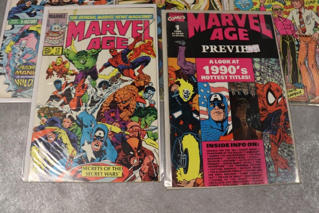 Lot of 8 Marvel Age Comic Books - 2