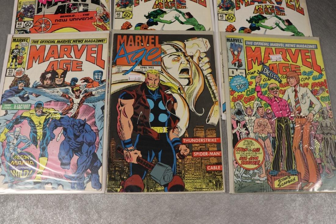 Lot of 8 Marvel Age Comic Books - 3