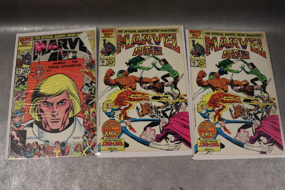 Lot of 8 Marvel Age Comic Books - 4