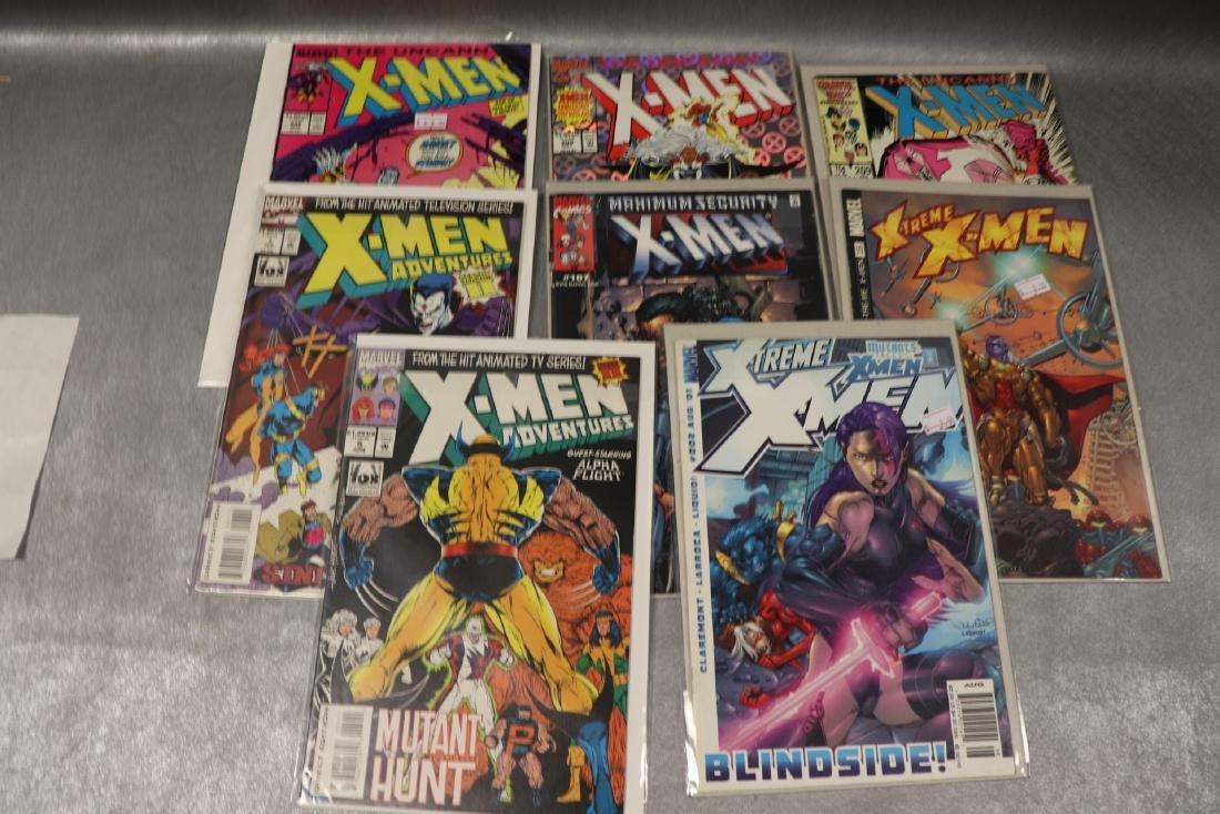 Lot of 8 X-Men Comics