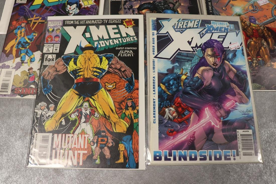 Lot of 8 X-Men Comics - 2
