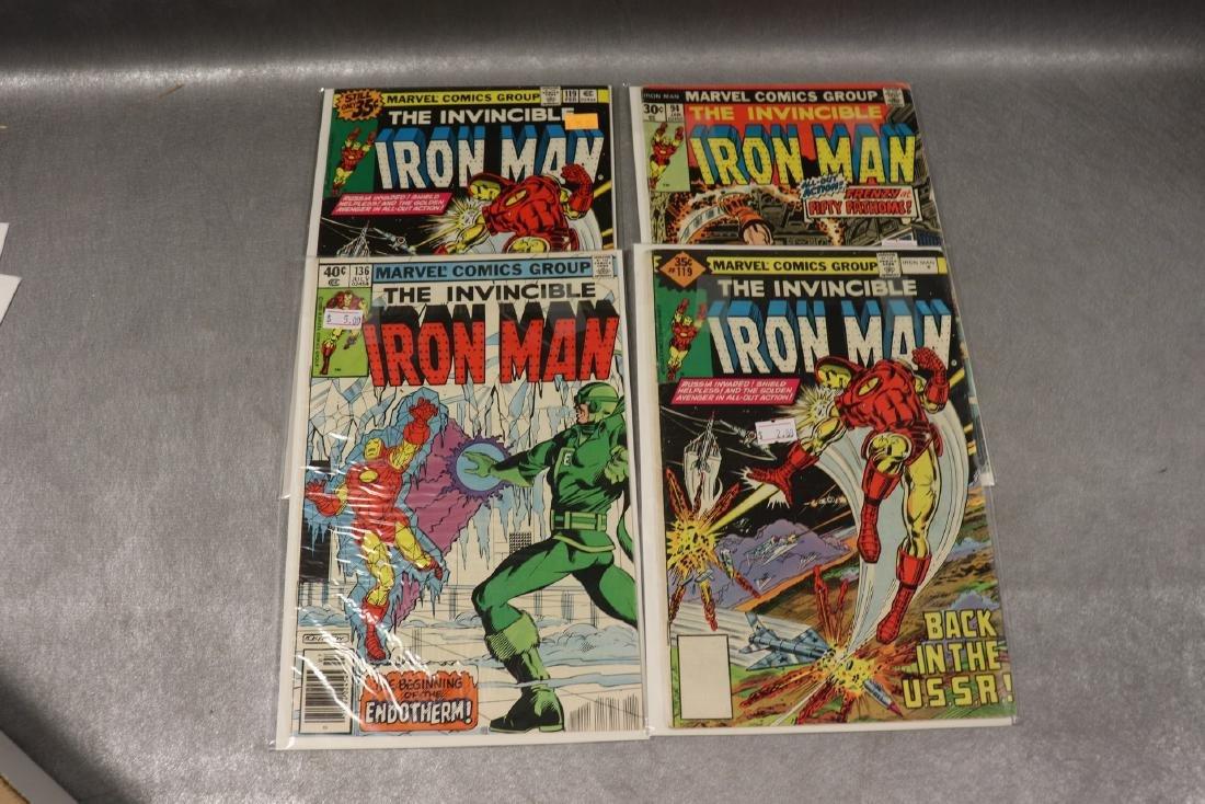 Lot of 4 Marvel Iron Man Comics