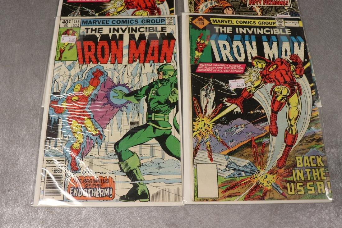 Lot of 4 Marvel Iron Man Comics - 2
