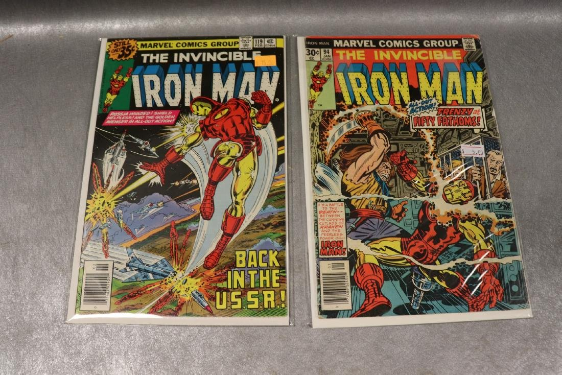 Lot of 4 Marvel Iron Man Comics - 3