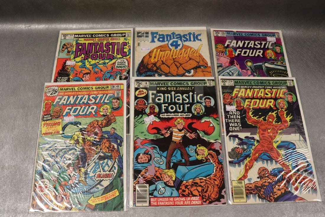 Lot of 6 Fantastic Four Comics