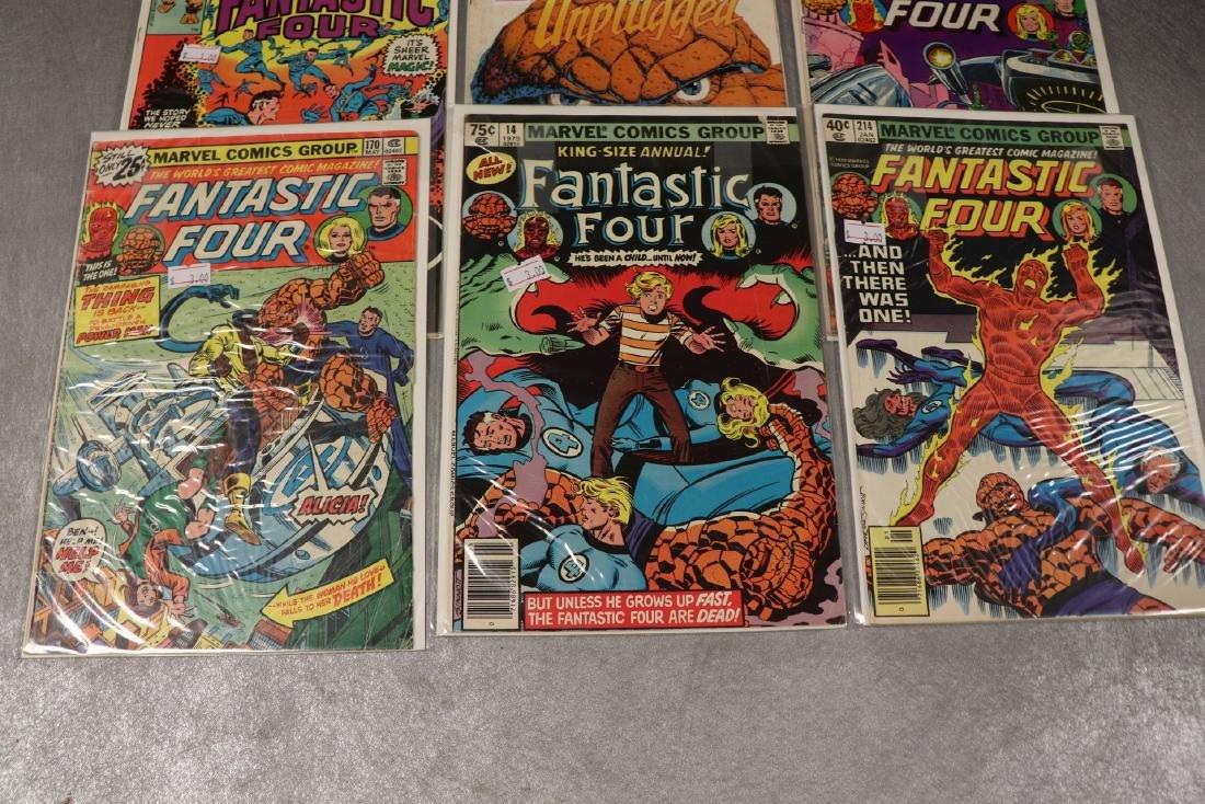 Lot of 6 Fantastic Four Comics - 2