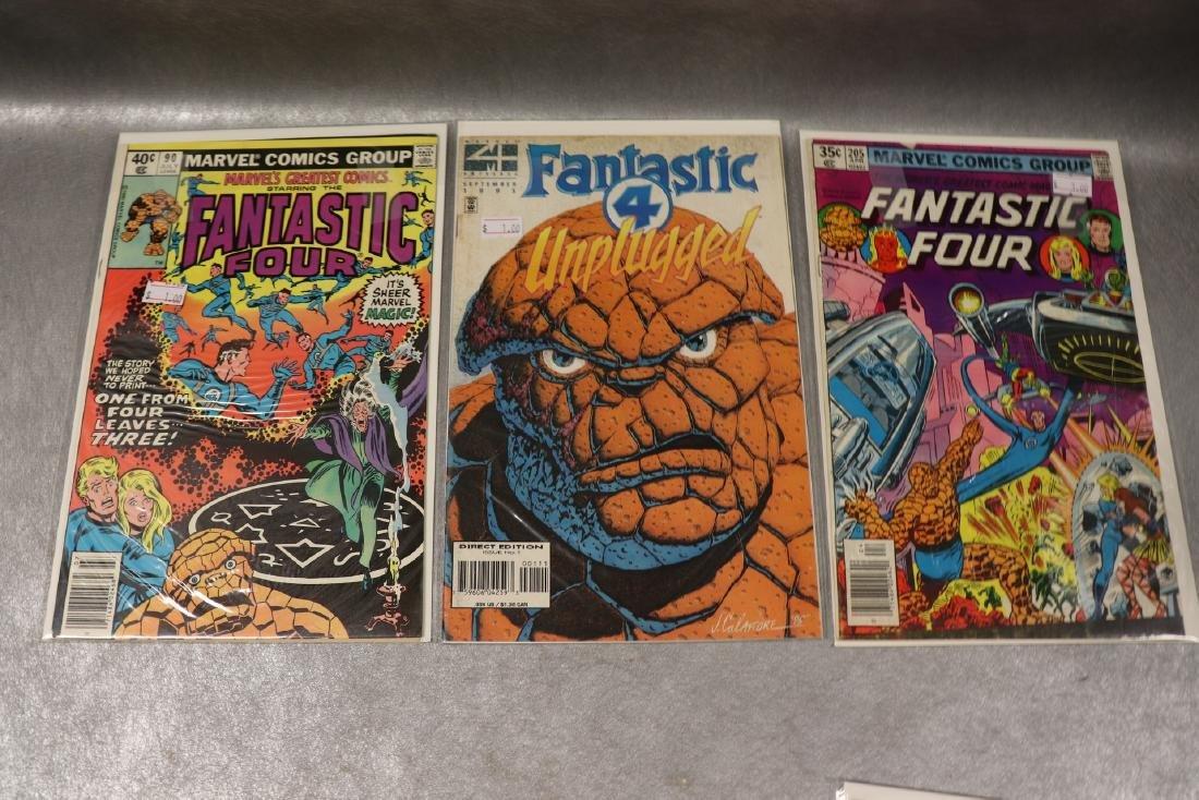 Lot of 6 Fantastic Four Comics - 3