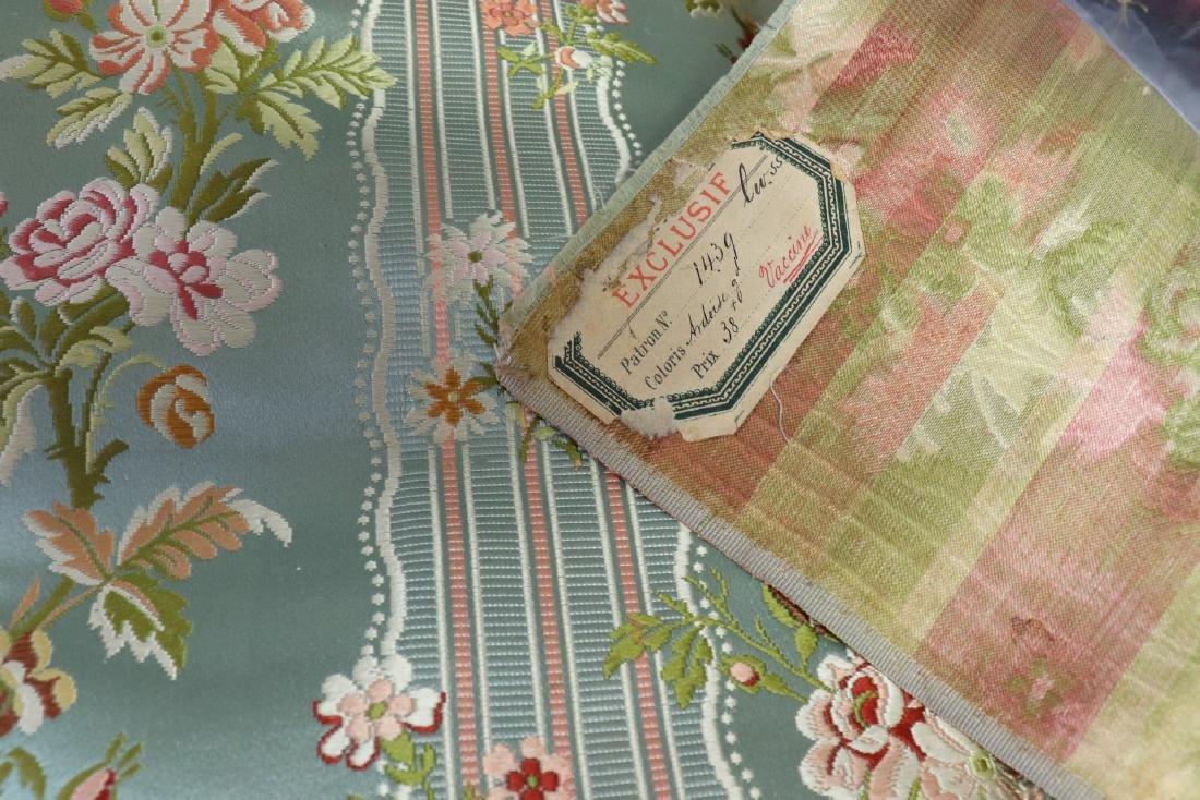 Victorian Crazy Quilt Fabrics And Quilt Top Piece - 7