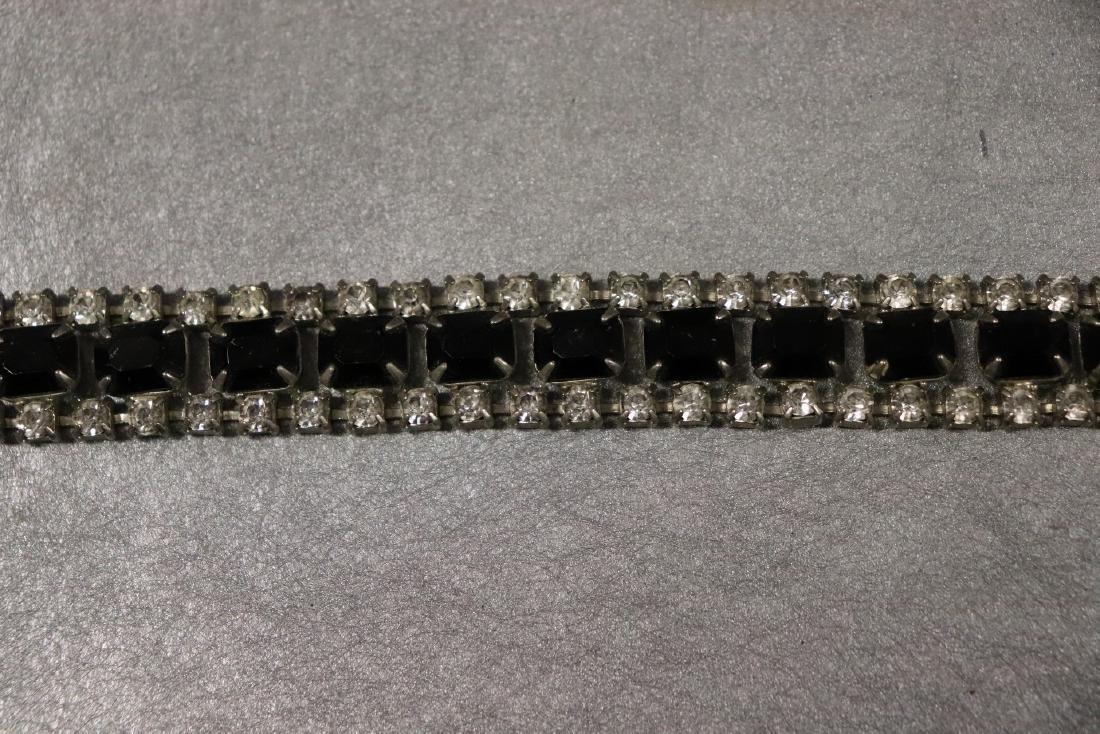 Vintage Jewelry Lot Rhinestone Pins & Necklaces - 4