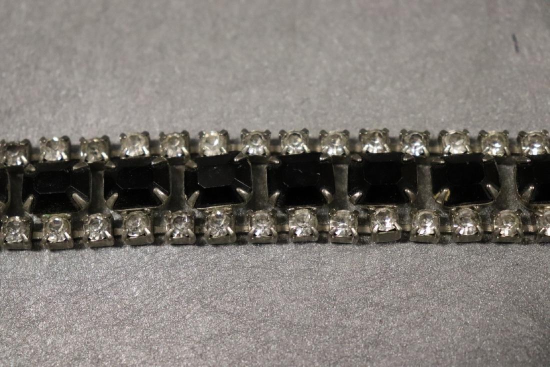 Vintage Jewelry Lot Rhinestone Pins & Necklaces - 5