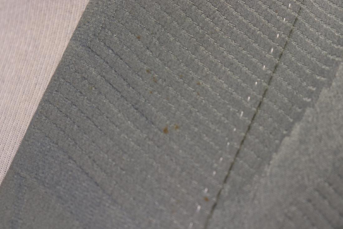Vintage Silk Celadon Green Full Length Kimono - 10
