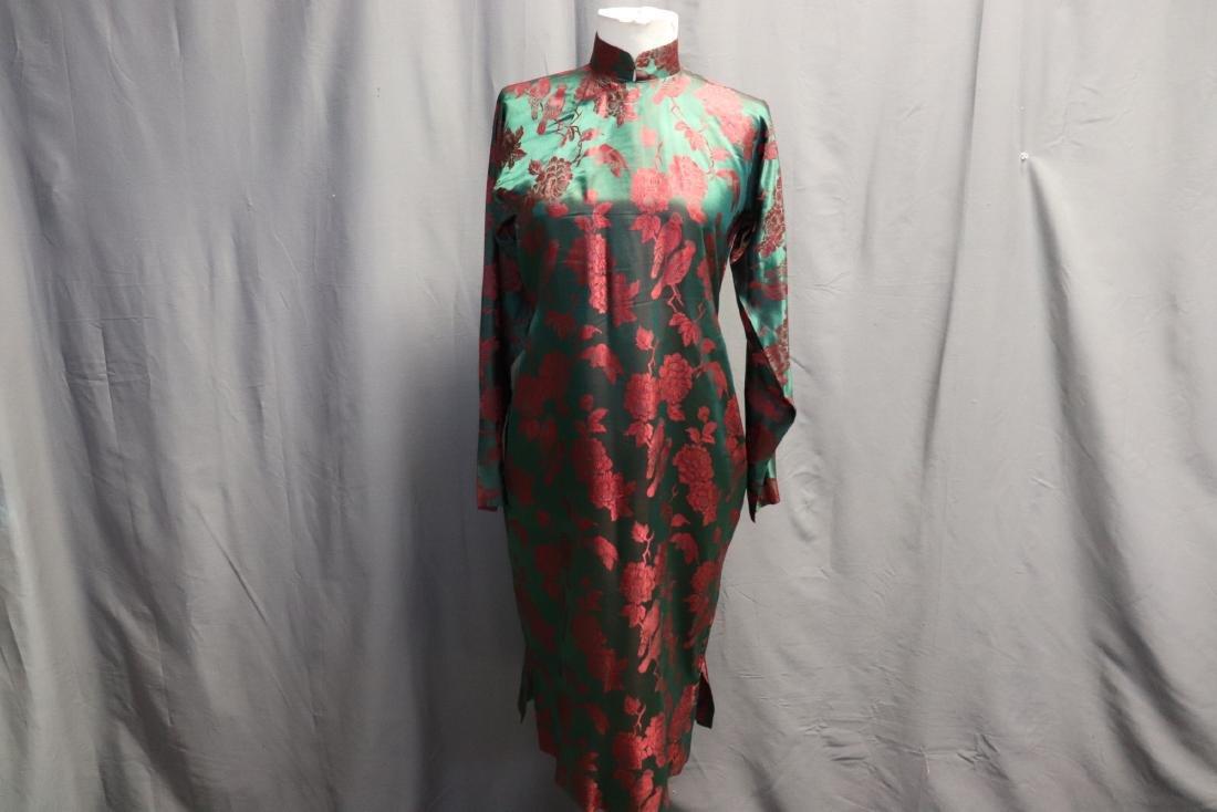1940's Silk Brocade Cheongsam