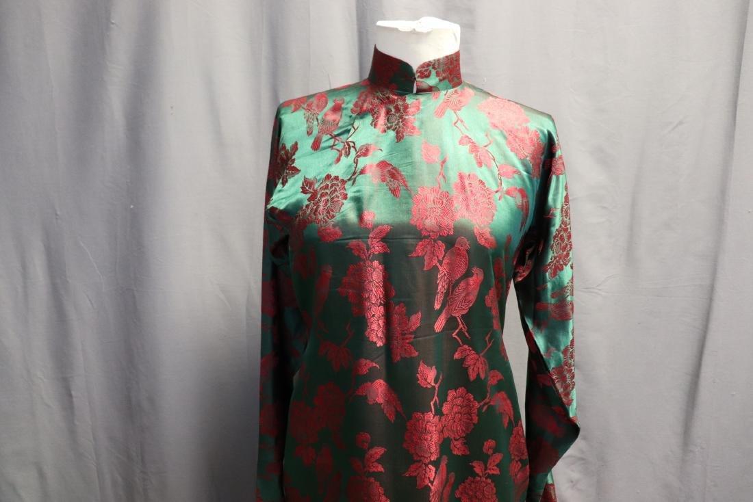 1940's Silk Brocade Cheongsam - 2
