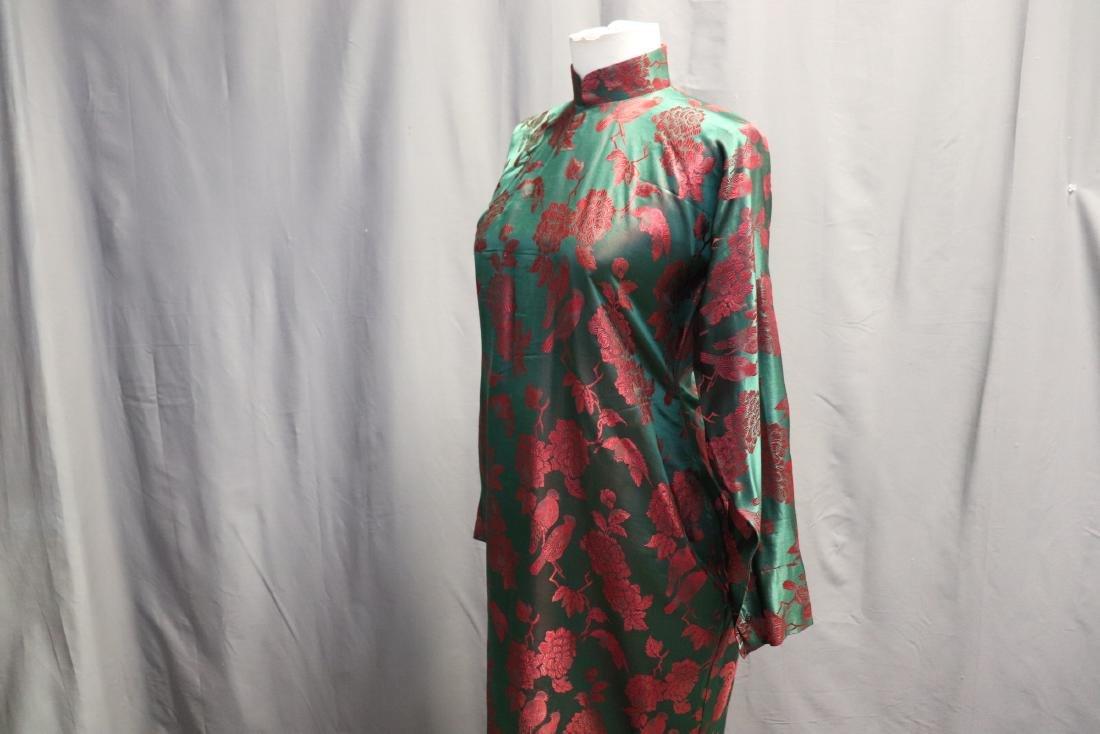 1940's Silk Brocade Cheongsam - 3