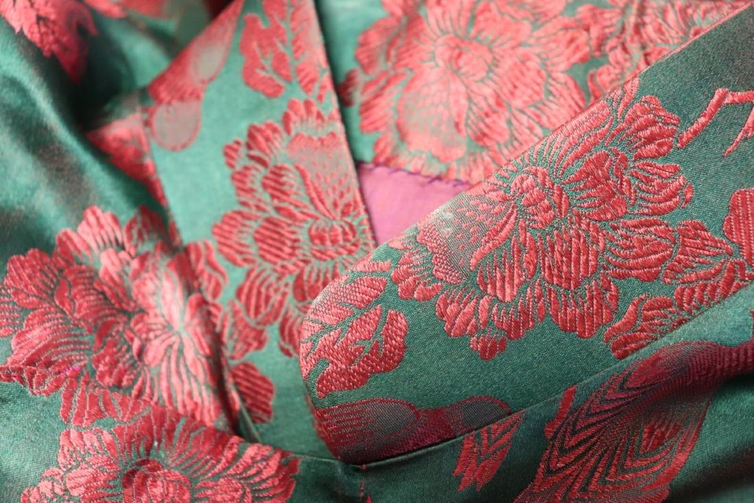 1940's Silk Brocade Cheongsam - 5