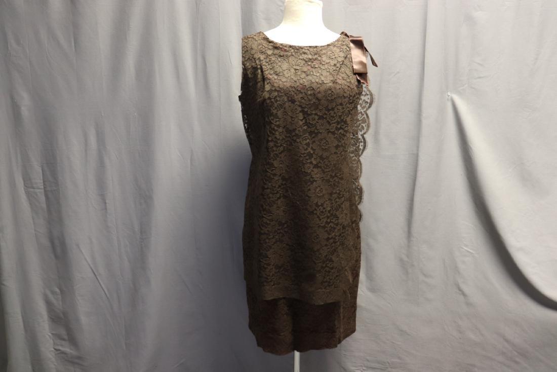 1960's Chantilly Lace Shift Dress
