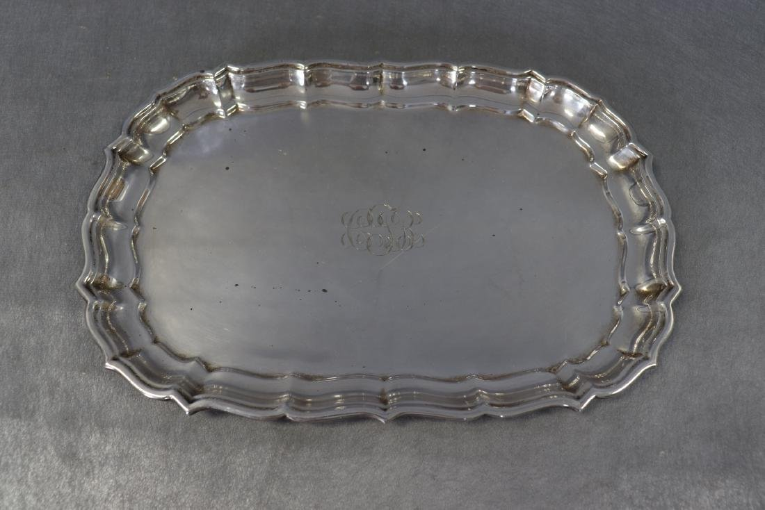 Reed & Barton Sterling Plater, Chippendale pattern