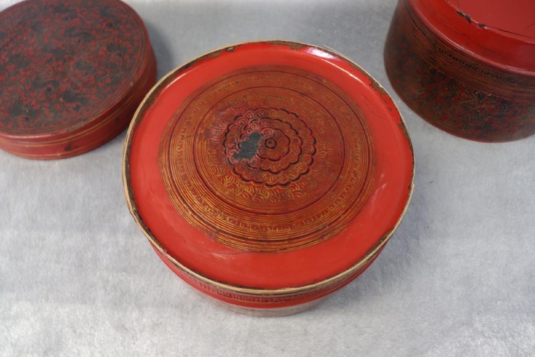 Vintage Asian 5-Piece Betel Box - 5