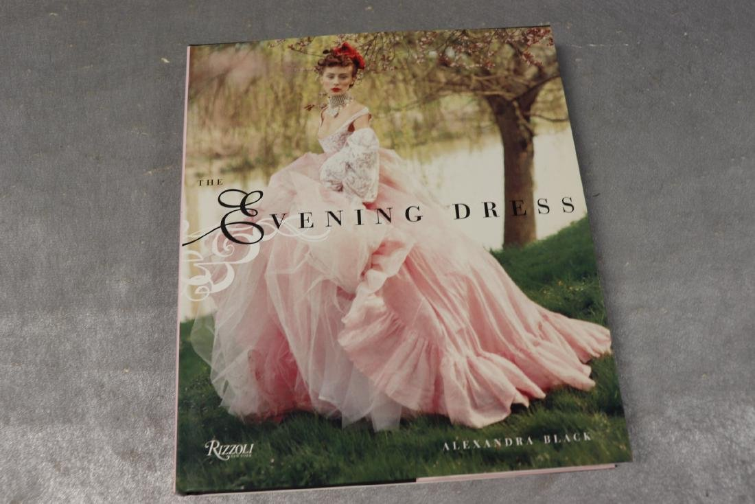 The Evening Dress Hardcover Fashion Book