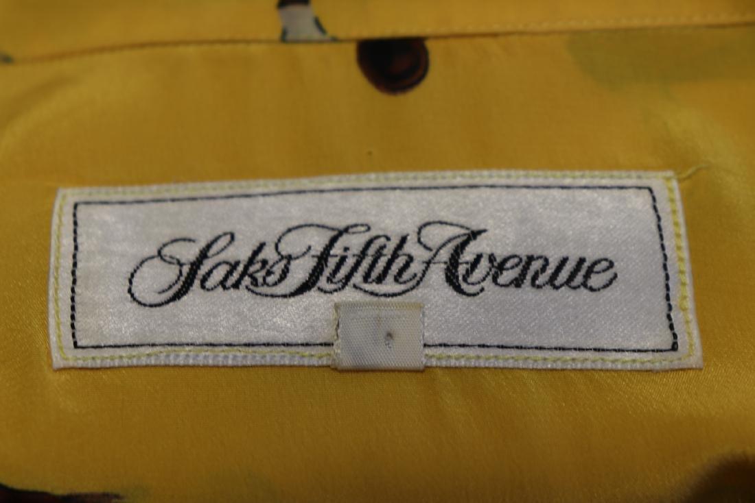Saks Fifth Avenue Equestrian Scene Silk Blouse - 6