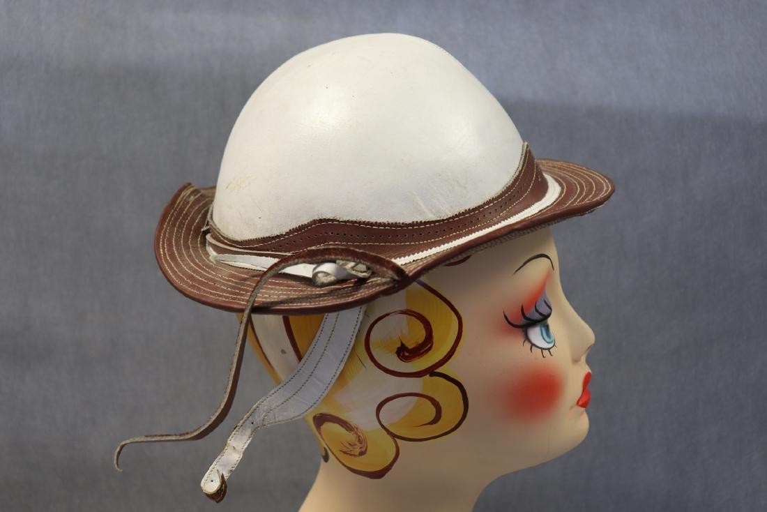 Vintage Rawhide Leather Gaucho Hat