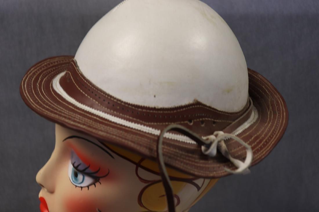 Vintage Rawhide Leather Gaucho Hat - 2