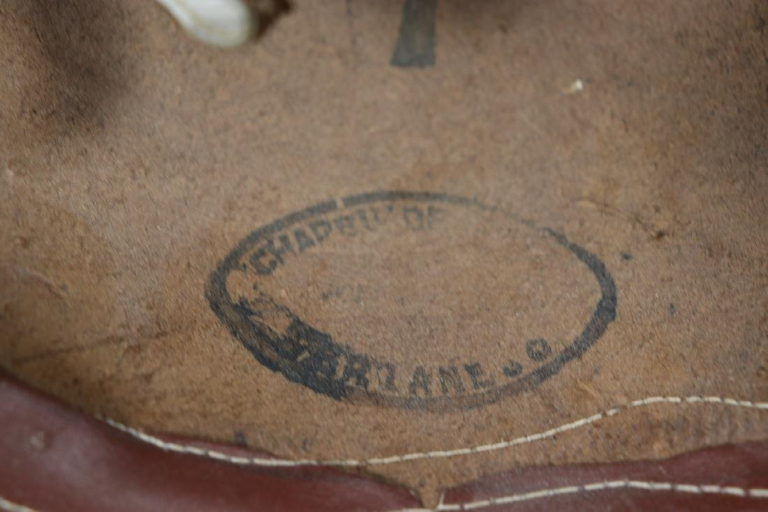 Vintage Rawhide Leather Gaucho Hat - 4