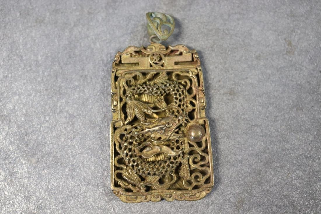 f6c822953d4 Vintage Asian Gold Tone Necklace Pendant Dragon - Feb 16, 2019 | Denise  Ryan Auctions in NH
