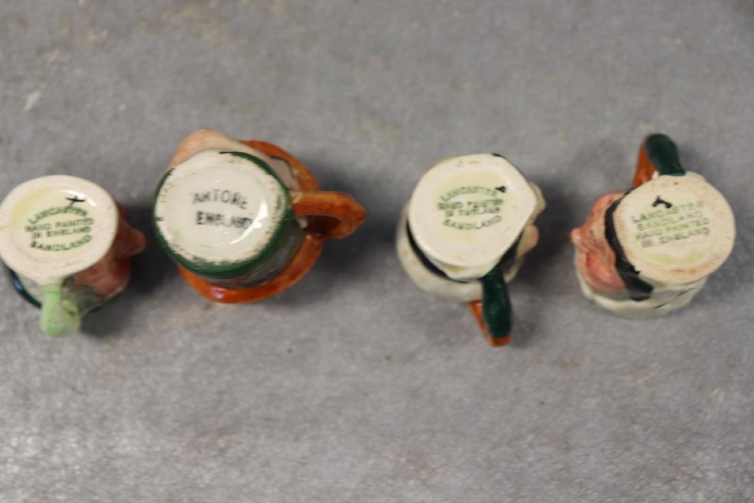 Lot of 8 Vintage Toby Jugs - 7