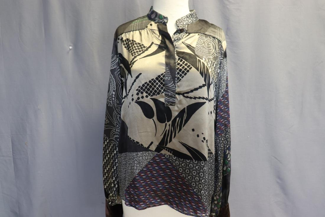 Old Store Stock Silk Blouse by Etro, Italy - 2