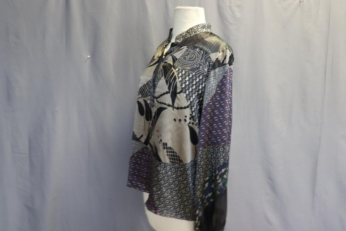 Old Store Stock Silk Blouse by Etro, Italy - 4