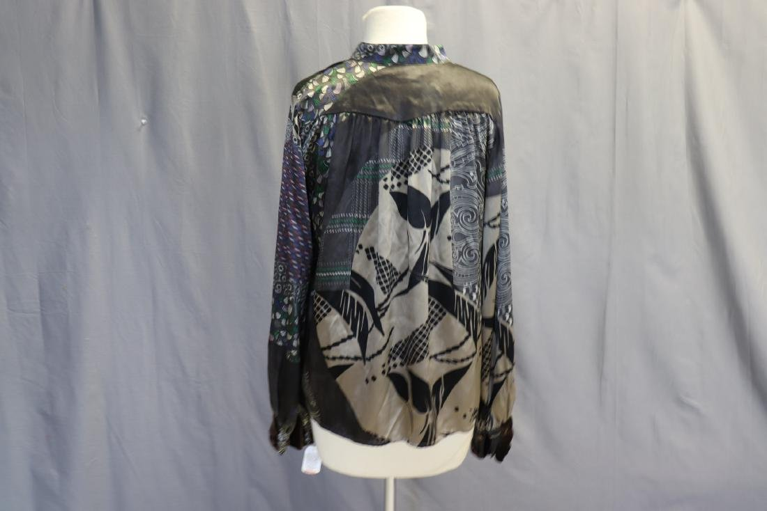 Old Store Stock Silk Blouse by Etro, Italy - 6
