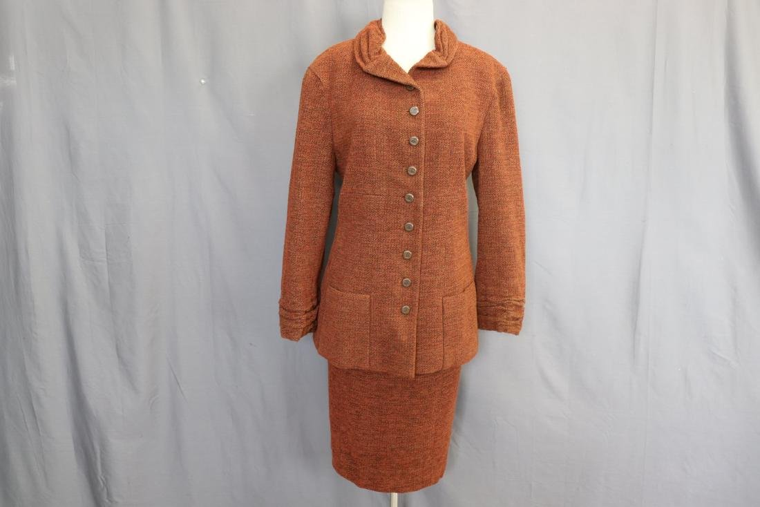 Brown Chanel Skirt & Jacket Suit