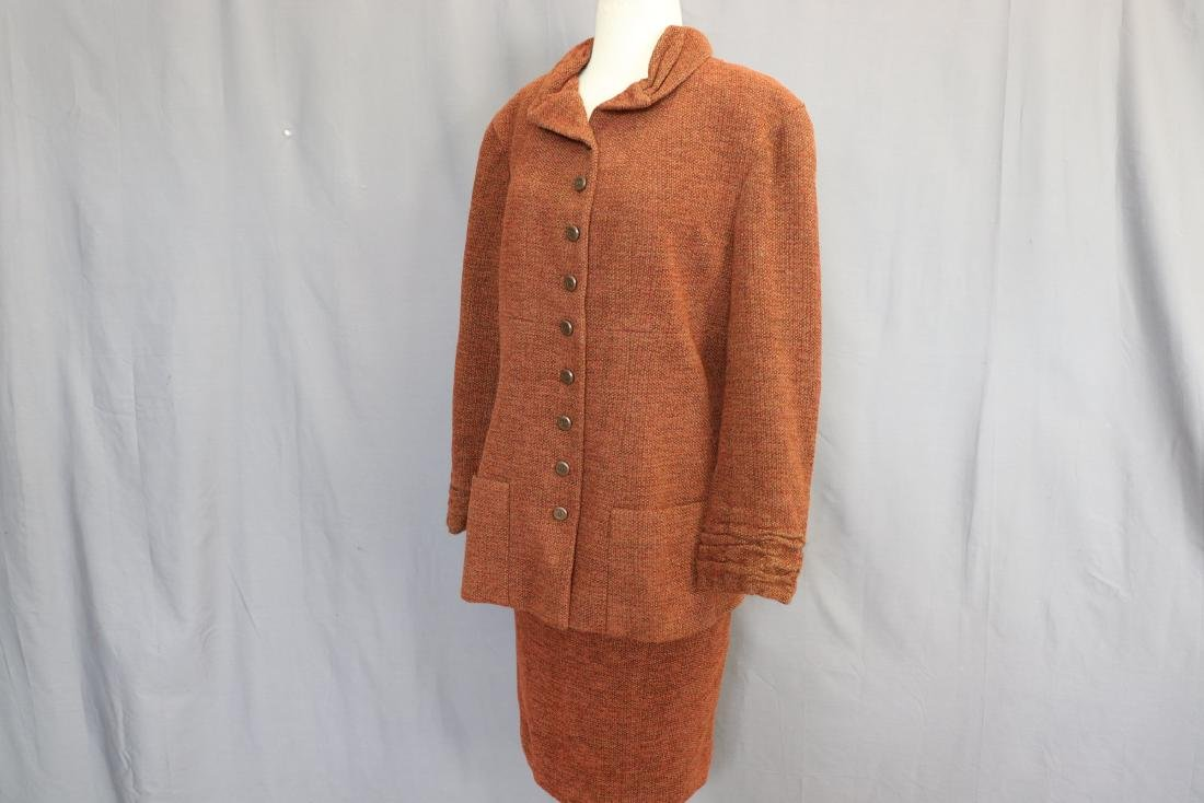 Brown Chanel Skirt & Jacket Suit - 3