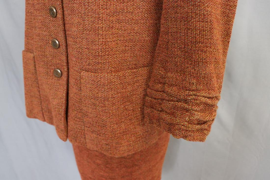 Brown Chanel Skirt & Jacket Suit - 4