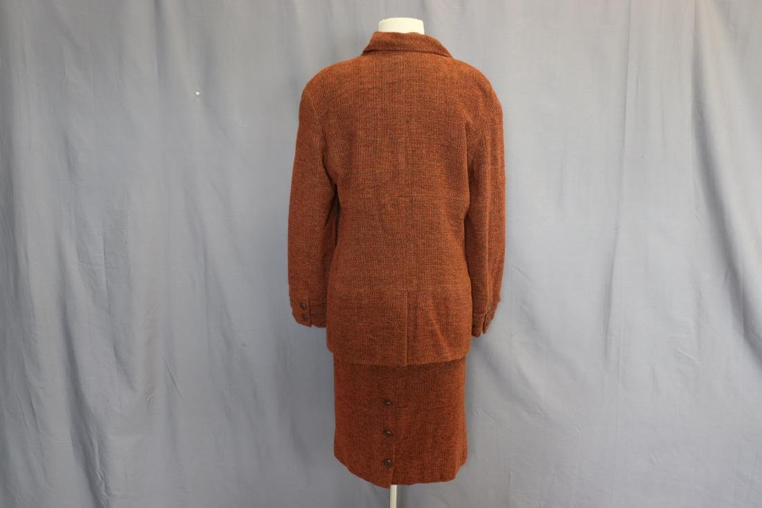 Brown Chanel Skirt & Jacket Suit - 5