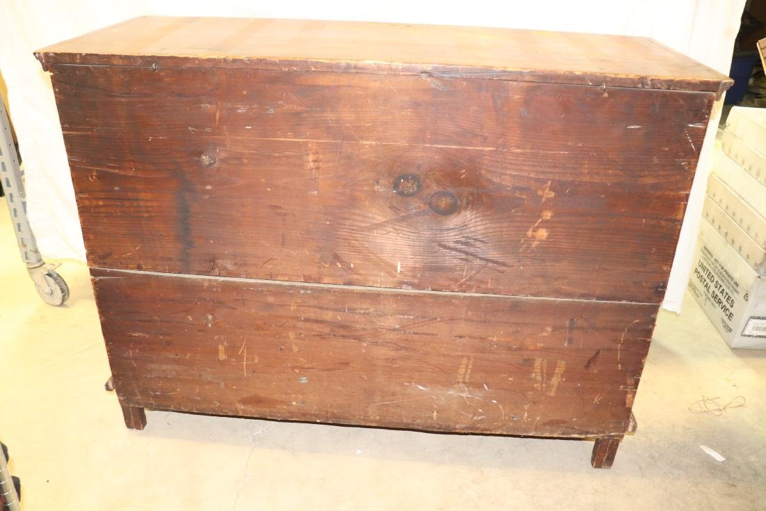 Antique Blanket Chest - 10