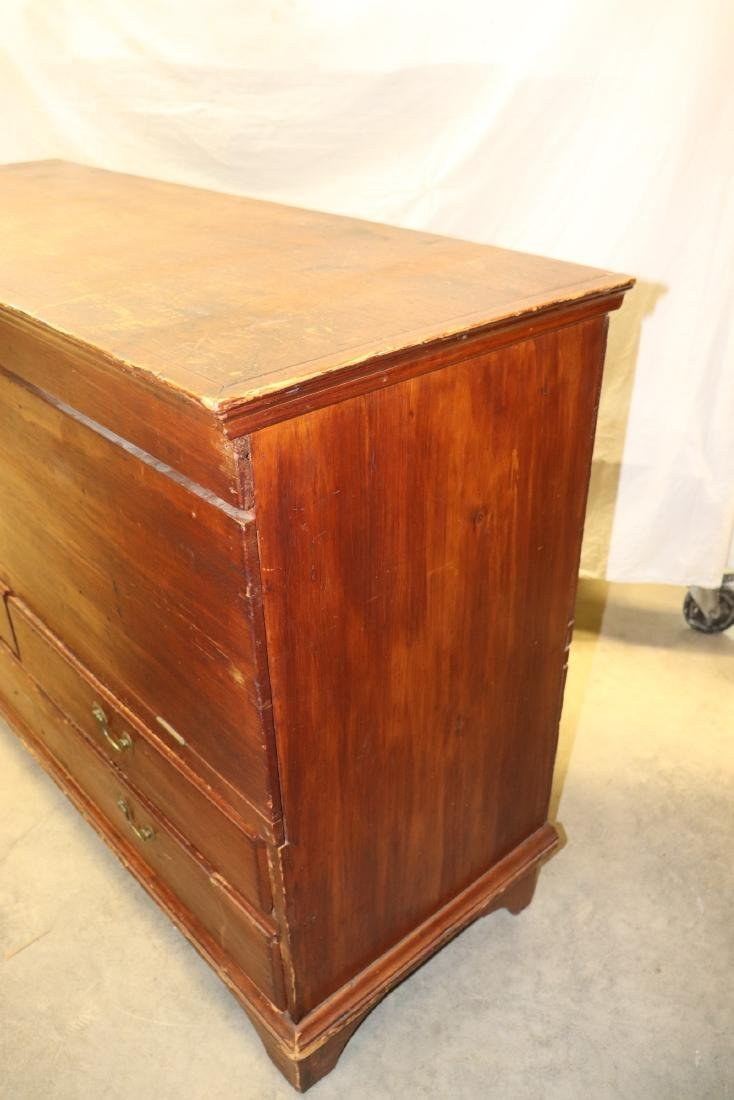 Antique Blanket Chest - 9