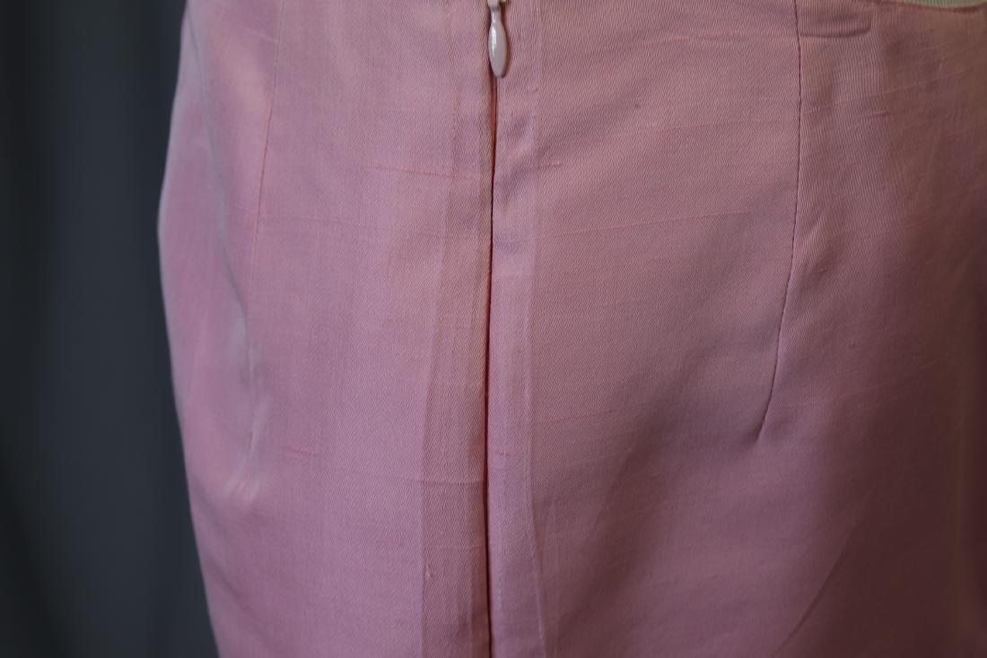 Vintage Oscar de la Renta Raw Silk Skirt & Jacket - 8