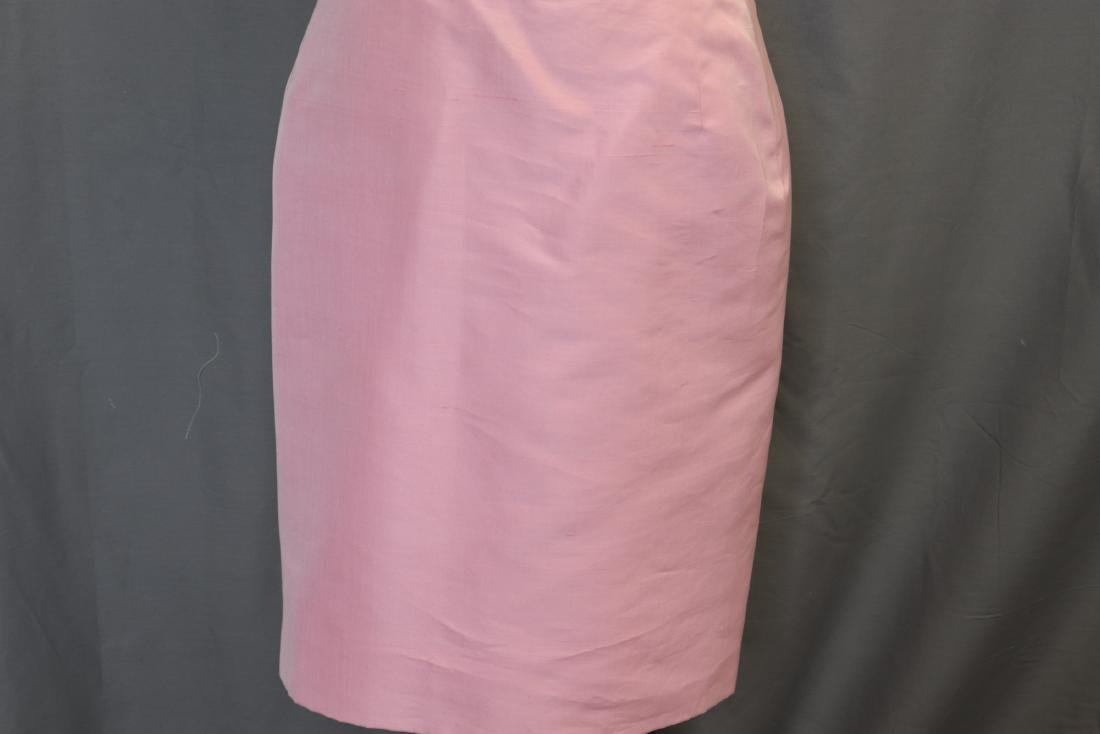 Vintage Oscar de la Renta Raw Silk Skirt & Jacket - 9