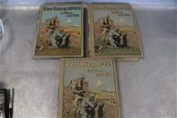 Set of 3 German Books Derkrieg in Wort und Bild