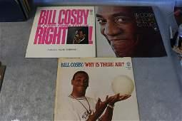 3 Vintage Bill Cosby Vinyl Record Albums