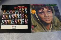 2 Vintage Otis Redding Vinyl Record Albums