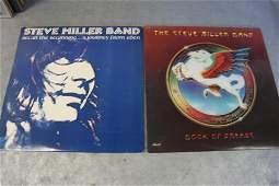 2 Vintage Steve Miller Band Vinyl Record Albums