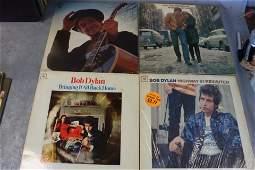 4 Vintage Bob Dylan Vinyl Record Albums