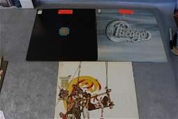 3 Vintage Chicago Vinyl Record Albums