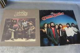 2 Vintage Doobie Brothers Vinyl Record Albums