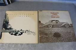 2 Vintage Eric Clapton Vinyl Record Albums